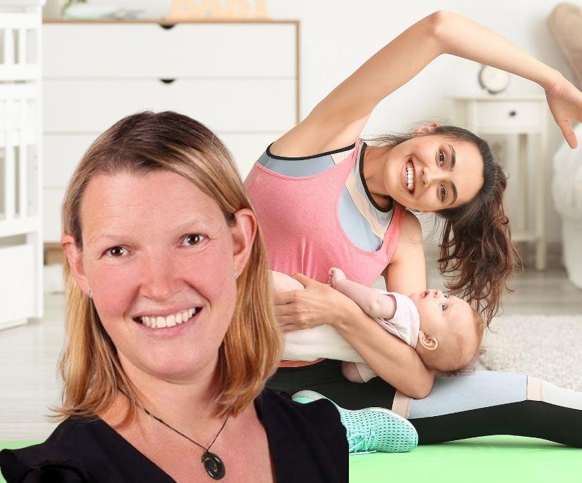 Yoga nach der Geburt- Inger von Aswege ( Online / vor Ort )